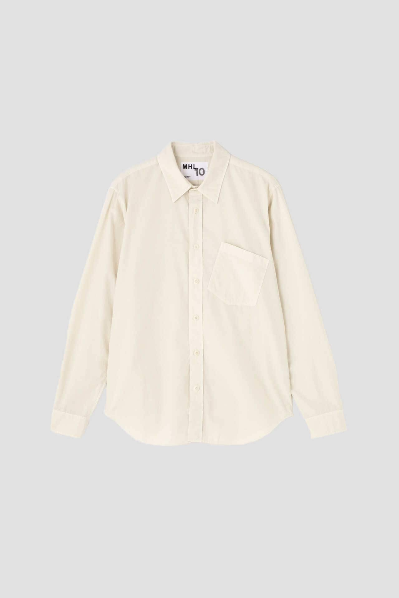 COMPACT COTTON POPLIN(MHL 代官山限定)1