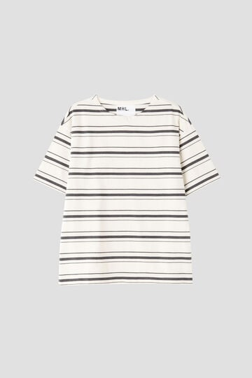 IRREGULAR STRIPE COTTON JERSEY_024