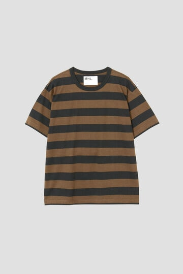 COTTON HEMP WIDE STRIPE_050