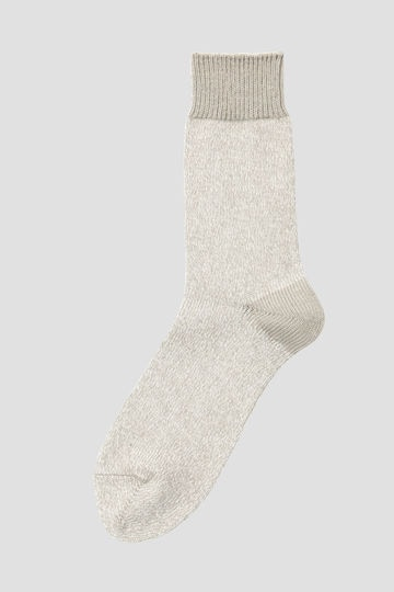 MELANGE COTTON LINEN SOCK_020