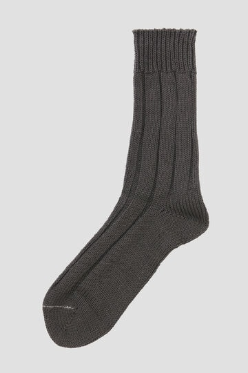 ROUGH COTTON LINEN SOCK_023
