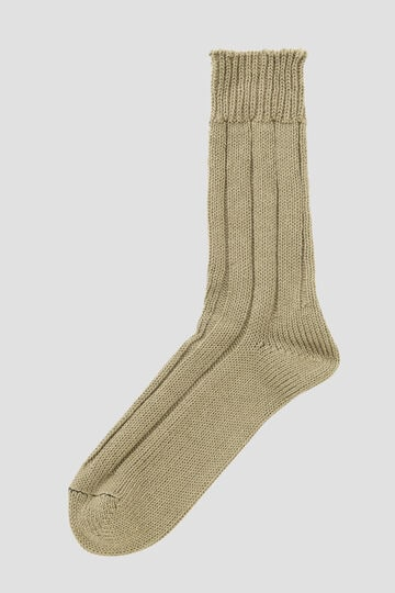ROUGH COTTON LINEN SOCK_181
