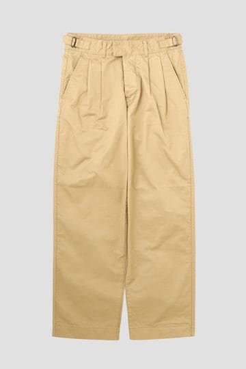 WASHED CHINO COTTON