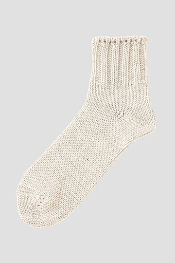 COTTON LINEN SHORT SOCK