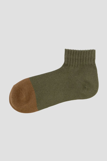 BI-COLOUR SHORT SOCK
