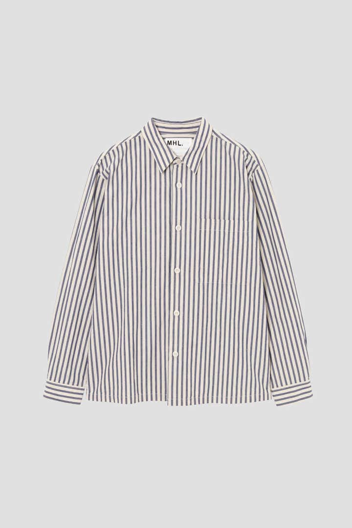 COTTON LINEN PJ STRIPE