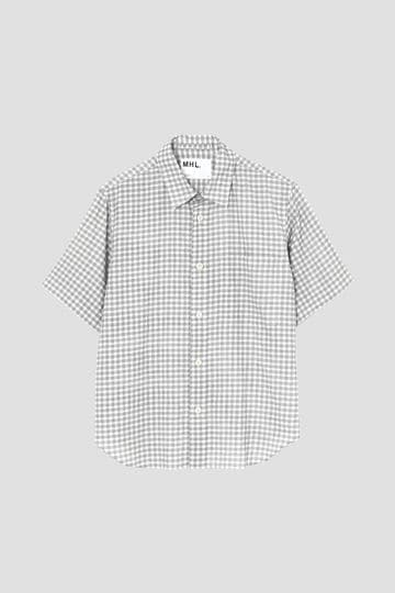 PRINTED COTTON LINEN CHECK