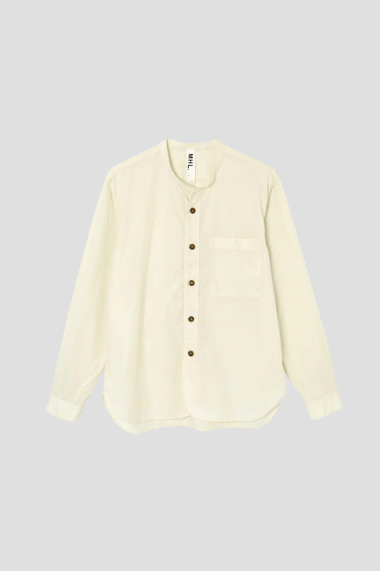GARMENT DYE BASIC POPLIN(MHL SHOP限定)7