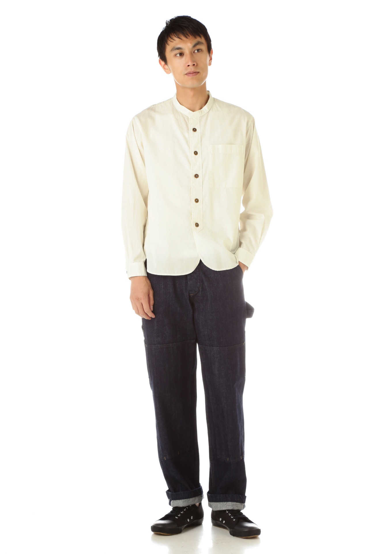 GARMENT DYE BASIC POPLIN(MHL SHOP限定)9