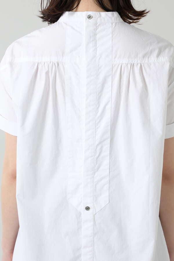 ハーフスリーブドレスシャツ