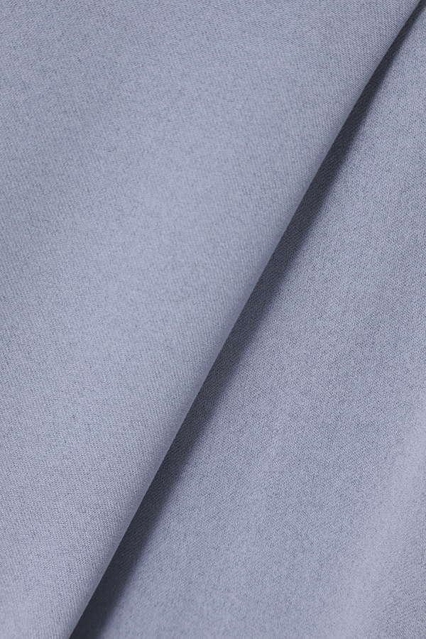 ベルト付き開襟ブラウス
