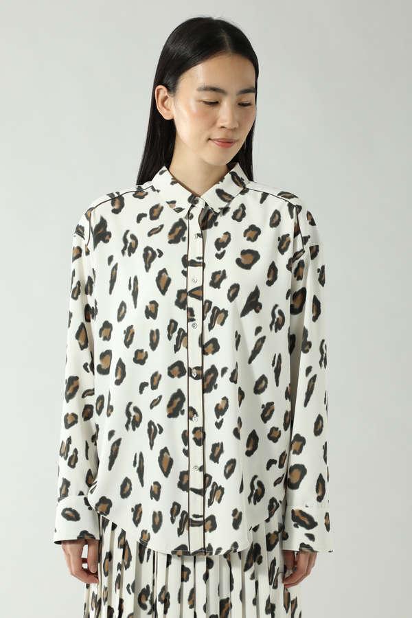 レオパードオーバーシャツ