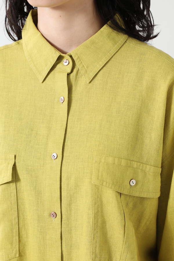 <ViVi 6月号掲載>リネンカラーシャツ