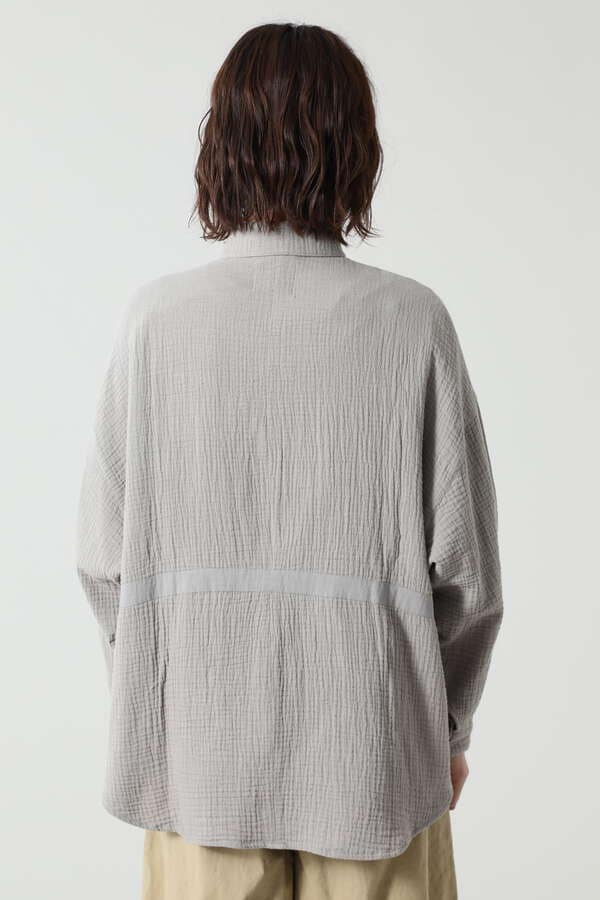 ダブルガーゼサマーシャツ