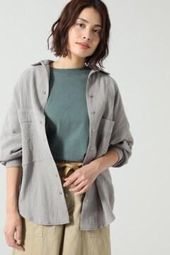 【先行予約 5月上旬-5月中旬入荷予定】ダブルガーゼサマーシャツ
