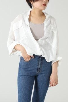 【先行予約 5月下旬-6月上旬入荷予定】ラミーリネンビッグシャツ