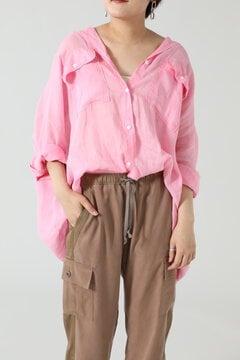 ラミーリネンビッグシャツ