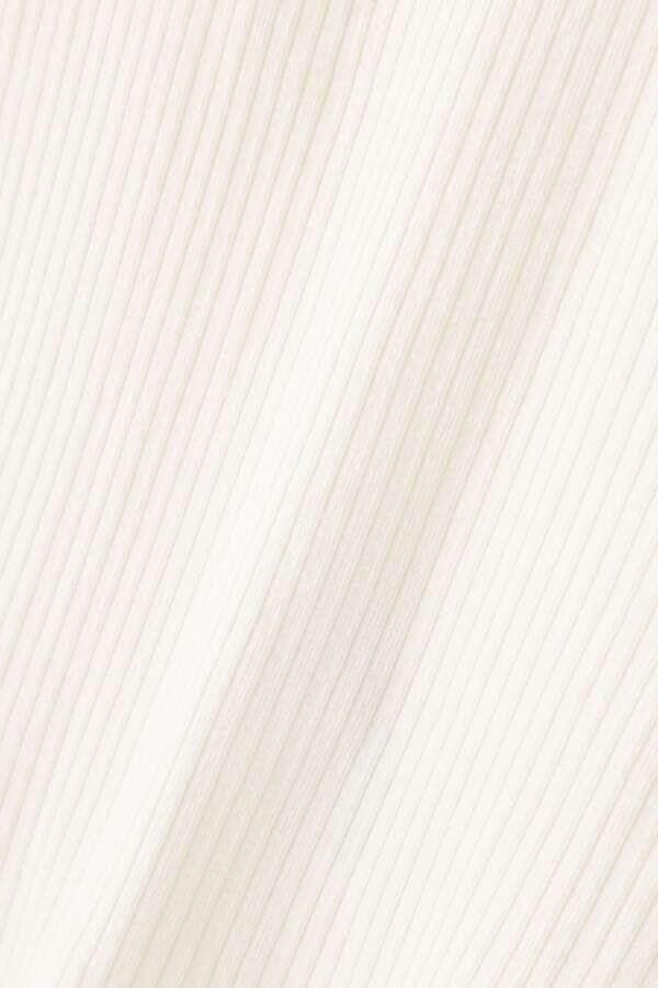 カップ付きリブタンクトップ
