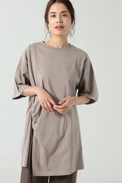 ねじりチュニックTシャツ