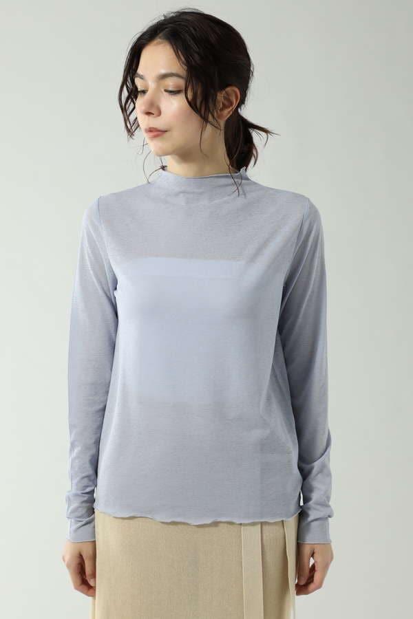 シアーロングスリーブTシャツ