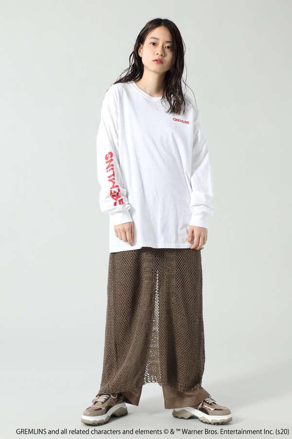 <ROSE BUD別注>グレムリンプリントロングスリーブTシャツ