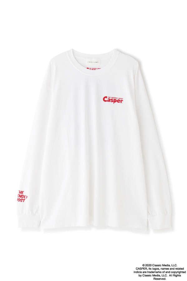 キャスパー/プリントロングTシャツ