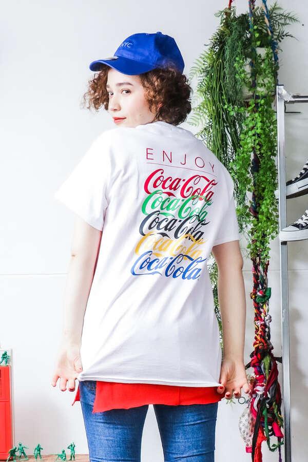 <ROSE BUD別注>「コカ·コーラ」Tシャツ
