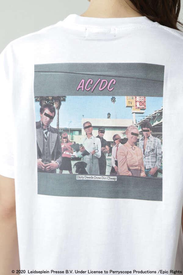 ACDCプリントTシャツ