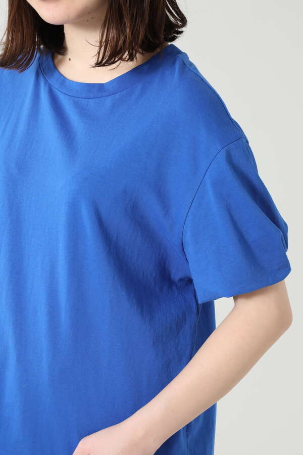 ツイストスリーブTシャツ