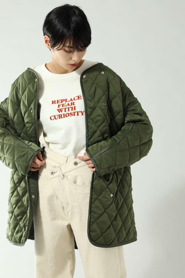 【先行予約 1月中旬-1月下旬入荷予定】リバーシブルキルティングジャケット