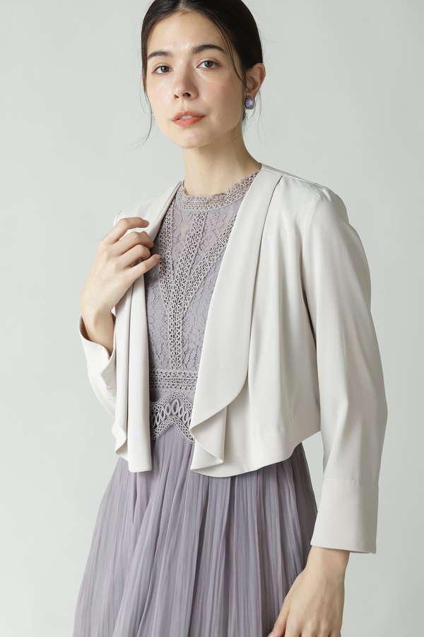 フレアショートジャケット