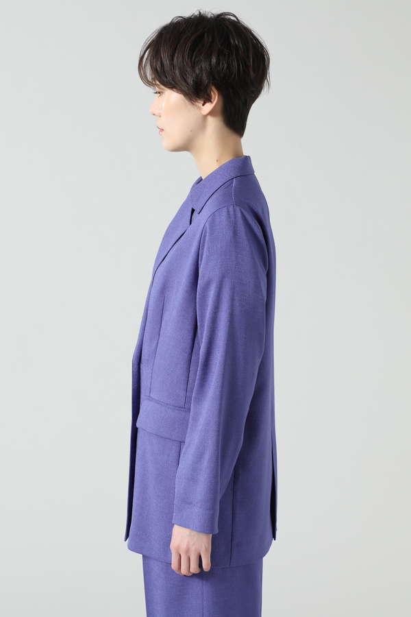 リネンライクテーラードジャケット