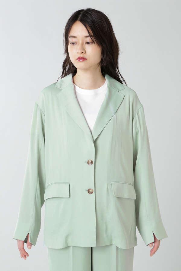 サテンジャケット