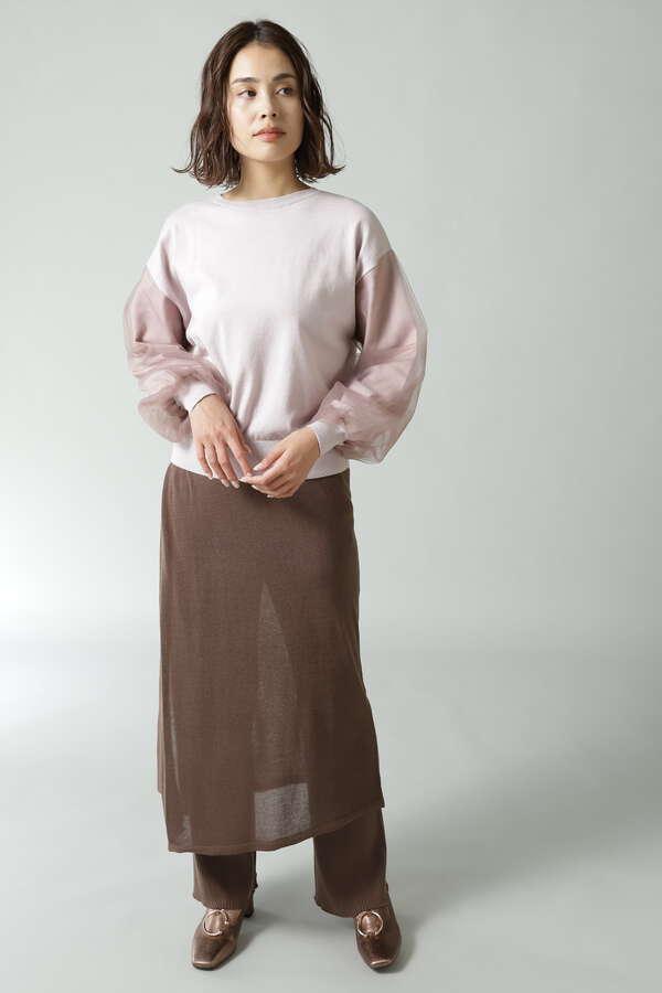 セットニットパンツ