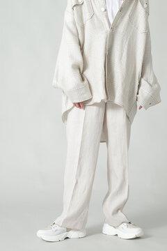 リネンタックパンツ