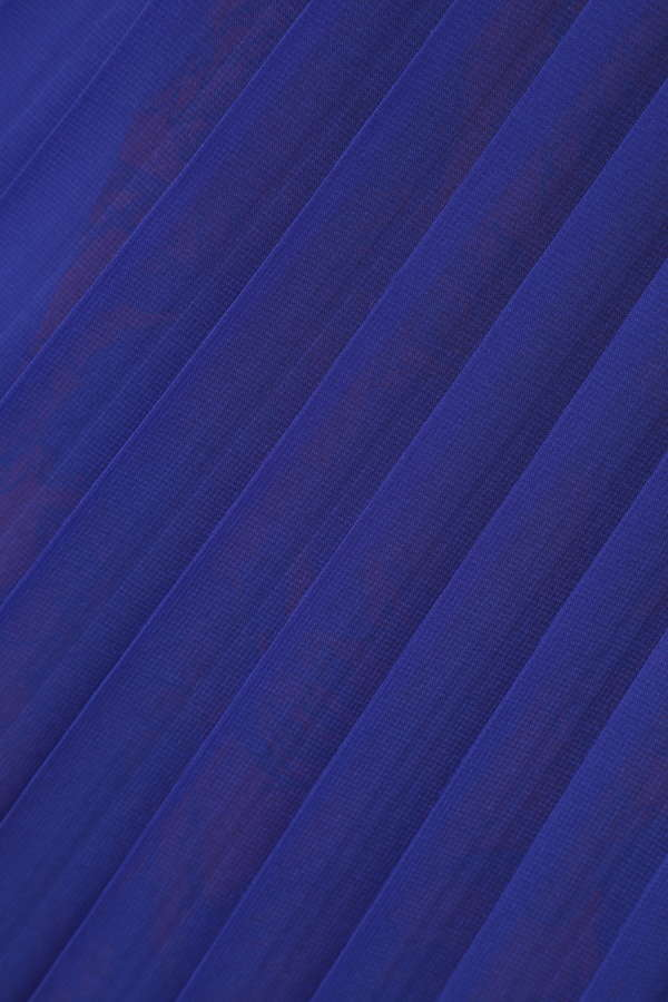 異素材フラワープリントスカート