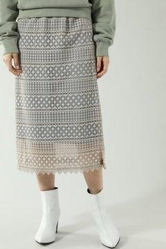 ラッセルレースIラインスカート