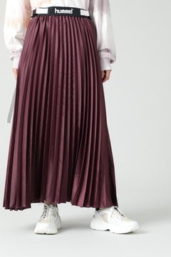 <hummel×CREOLME>プリーツスカート