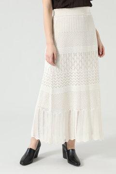 【先行予約 3月下旬-4月上旬入荷予定】レース編みスカート