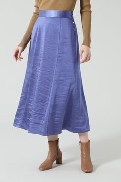 【先行予約 2月下旬-3月上旬入荷予定】サテンスカート