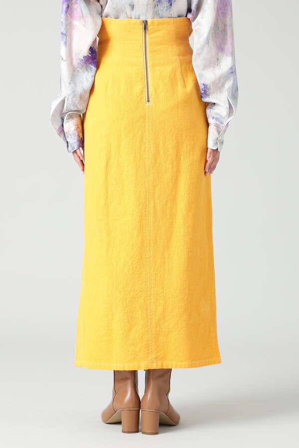 ウエストタックストレートスカート