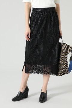 クロスラインレーススカート