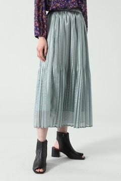 【先行予約 5月上旬-5月中旬入荷予定】シアープリーツスカート