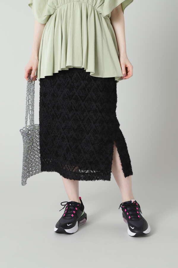 ストレートミディ丈スカート