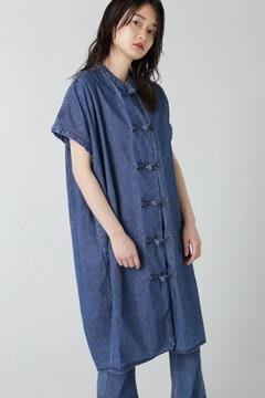 デニムチャイナドレス