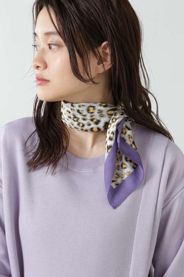 レオパード柄スカーフ