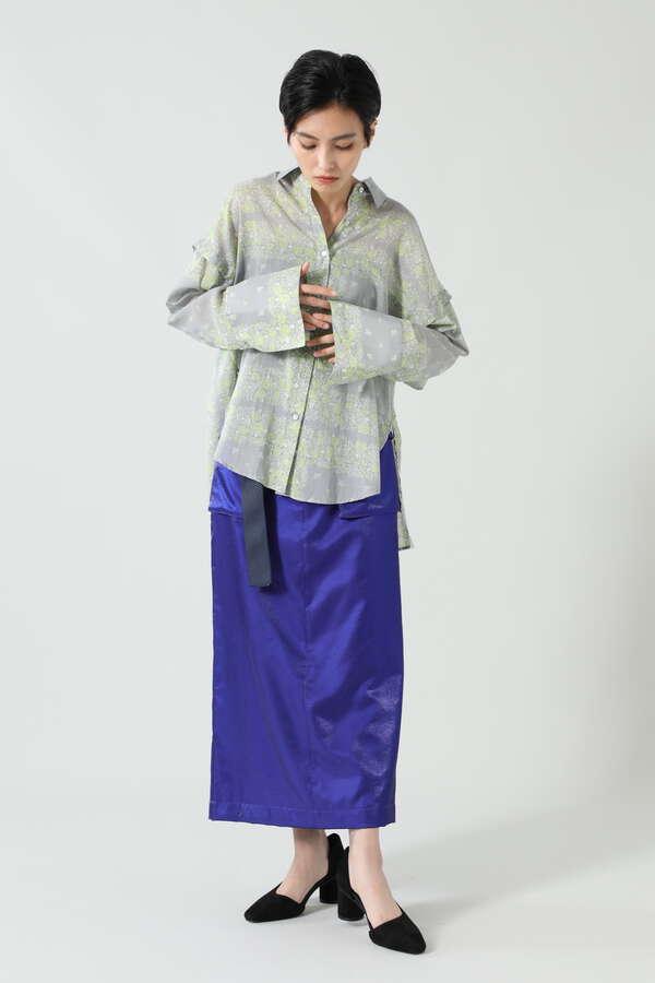 バンダナプリントシャツ