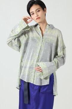 【先行予約 7月下旬-8月上旬入荷予定】バンダナプリントシャツ