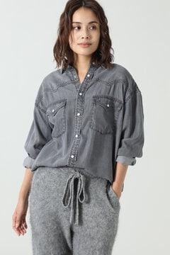 ウエスタンデニムシャツ