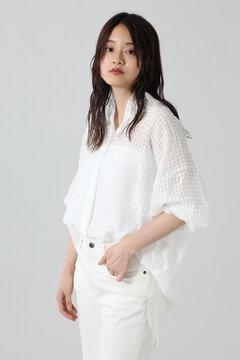 【先行予約 7月下旬-8月上旬入荷予定】シアーシャツ